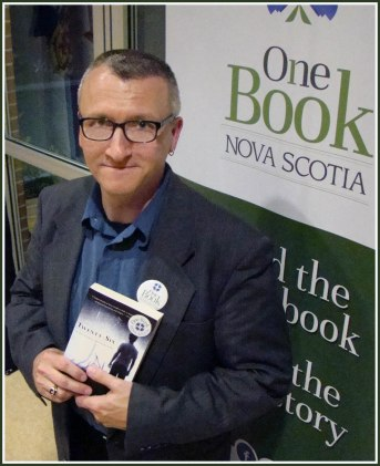 At One Book reading in Antigonish. Fall 2012.Photo: Steve MacLean