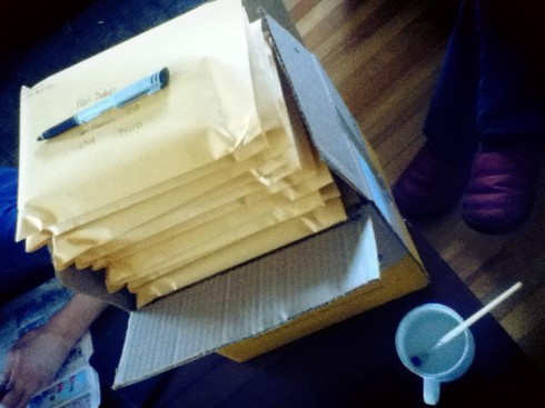 IndieGogo mailout is nearing completion