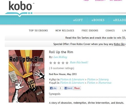 Click on this image to link through to Kobo.
